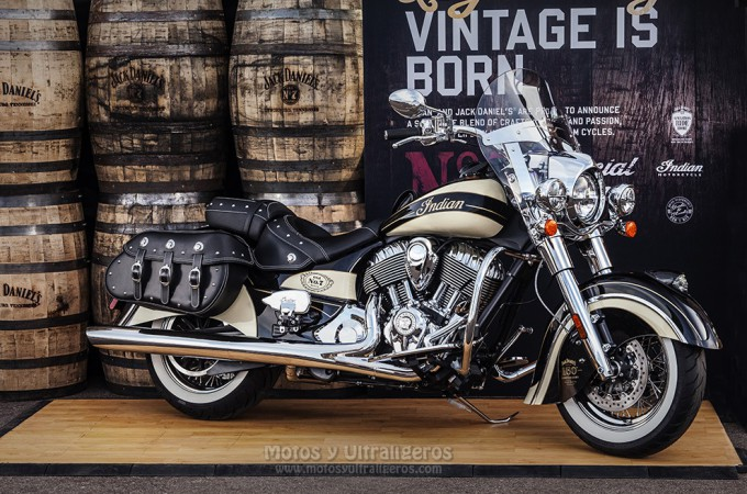 Indian Chief Vintage – Edición Limitada, Jack Daniel.